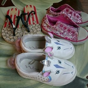 Other - LOT OF TODDLER GIRLS SHOES SIZE 7